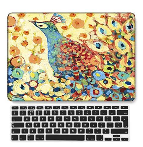 GangdaoCase Carcasa rígida de plástico ultrafina, ligera, compatible con MacBook Pro de 15 pulgadas con Touch Bar/Touch ID con teclado UK A1707/A1990 (Animal A 210)