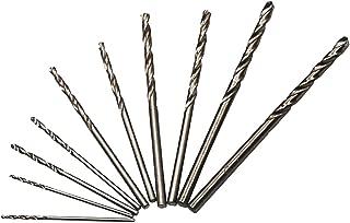 SPKLINE 10 Pcs High Speed Steel Cobalt Drill Bit Set 2 Pcs of Each 1mm(3/64