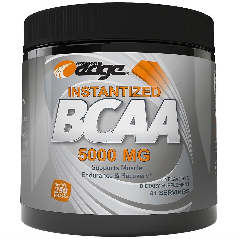 上に築きます放映吸収剤Performance Edge Bcaaパウダー 5000 Mgインスタンス化分岐鎖アミノ酸 250グラム