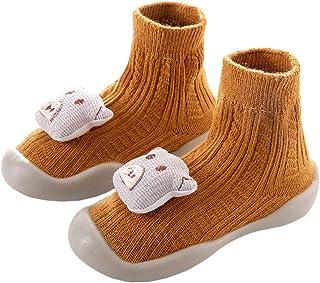 KidAc, Calcetines Para Niños Y Niñas Calcetines Antideslizantes Para Niños De Dibujos Animados Para Niños Zapatos De Piso Sanos Botas Para Niños De Otoño E Invierno