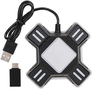 Adaptador Convertidor de Teclado y Mouse, Convertidor de Gamepad para PS3 / para PS4 / para PS4 Pro/para PS4 Slim/para Swi...