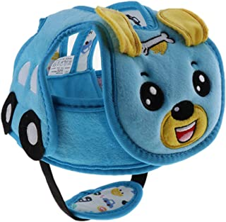Blesiya Toddler Plush Safety Helmet Baby Child Walking Crawling Headguard Hat Head Protective Harnesses Cap - Dog, as described