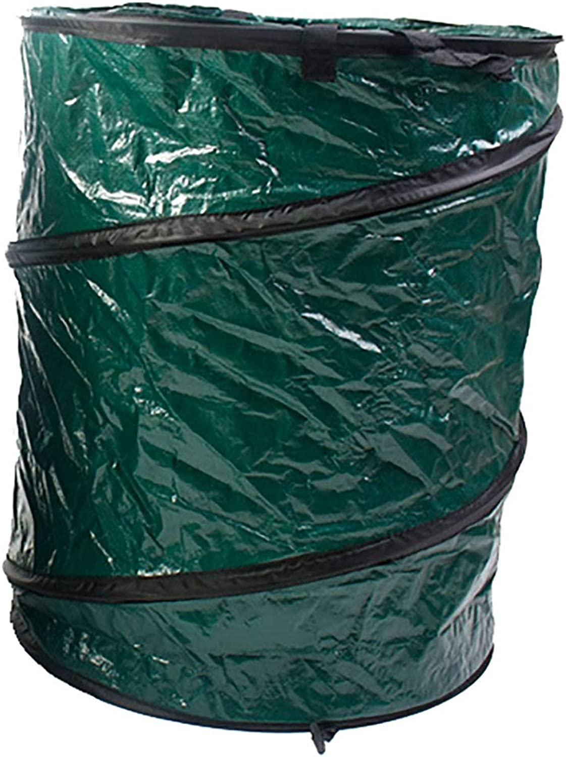 GUOWEI Garden Waste Bags for Leaf Reusable Heavy Duty, 2 Materials (color   Dark Green, Size   46x55cm)
