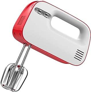 Grateshop1 Electric Hand Mixer 3 Speed Retro Handheld 150 Watt Beaters