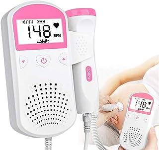 Mr. Fragile Doppler Fetal Detector de Ritmo Cardíaco, Portátil Detector de Latidos Cardíacos Fetales