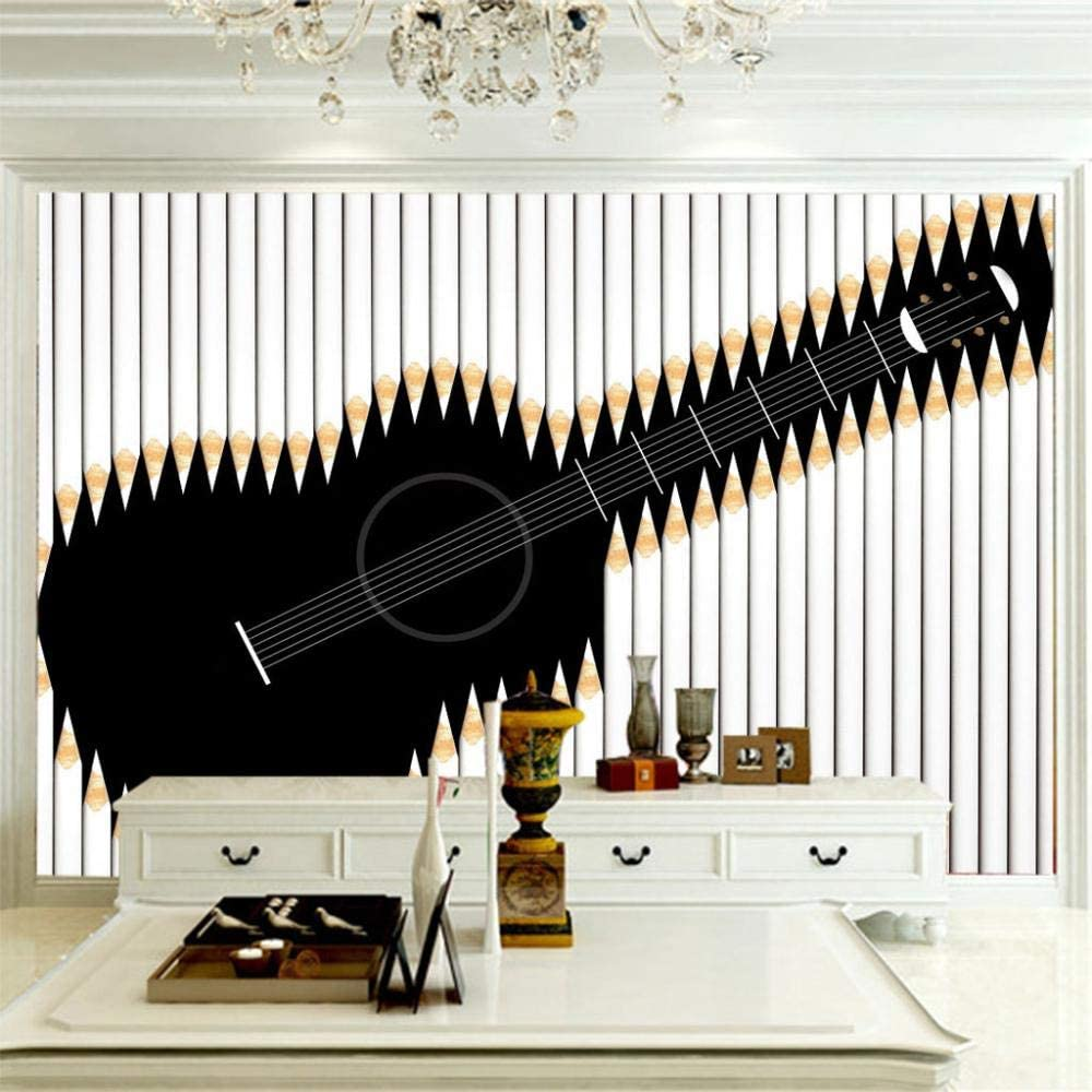 ZCLCHQ Fixed price for sale DIY Wallpaper muralAbstract Non-Woven Max 74% OFF Guitar Re