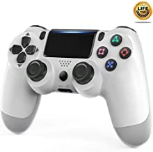 PS4 Controller, Wireless Gamepad for Playstation 4/Pro/Slim/PC(7/8/8.1/10) with Motion Motors and...