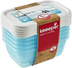 keeeper MIA Polar Botes para Alimentos, PP, Ice Blue (