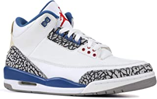 Air Jordan 3 Retro '2009 Release' - 136064-141 - Size 9 White, True Blue