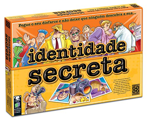 Jogo Identidade Secreta, Grow, Multicor