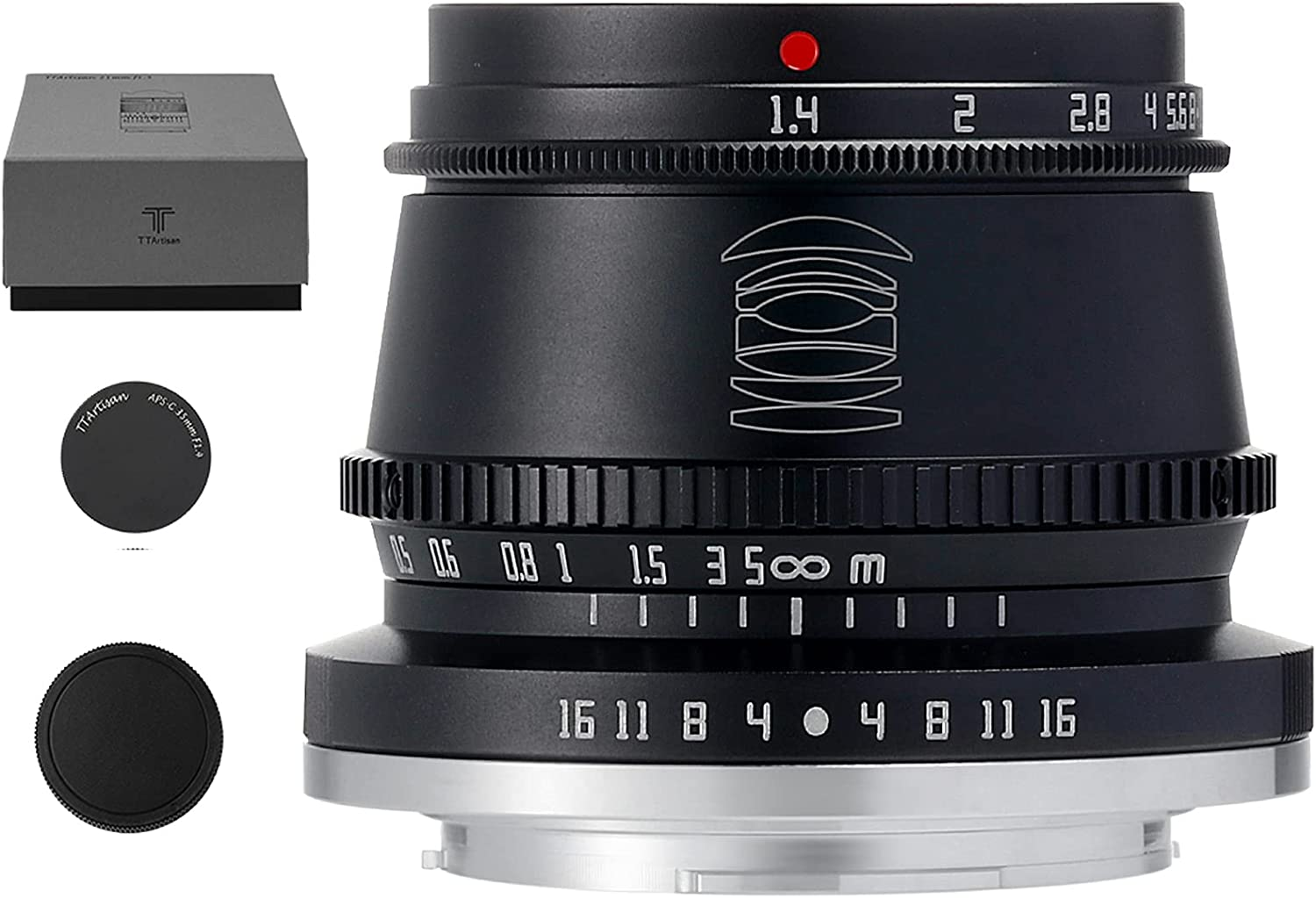 TTArtisan 35mm F1.4 APS-C Manual Lens with Focus Pana Compatible Large discharge sale Long Beach Mall