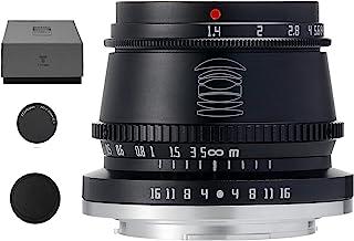 TTArtisan 35mm F1.4 APS-C Manual Focus Lens Compatible with Fuji Fujifilm X-Mount, X-A1, X-A10, X-A2, X-A2, X-A3, X-A5, X-...