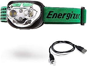 Energizer LED Headlamp Flashlight, High Lumens, for Camping Accessories, Running, Hiking, Hurricane Supplies, Survival Kit...