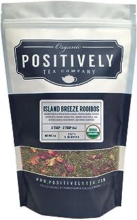 Positively Tea Company, Organic Island Breeze Rooibos, Loose Leaf, 16 oz. Bag