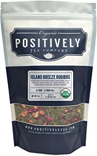 Positively Tea Company, Organic Island Breeze Rooibos, Rooibos Tea, Loose Leaf, USDA Organic, 1 Pound Bag