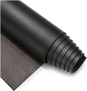 Cuir Artificiel de Rembourrage Noir pour canapé de siège Auto 1,8 mm d'épaisseur (Size:50x138cm,Color:Noir)