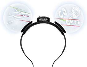 Disney Parks Star Wars Mickey Mouse Ears Light Up Headband