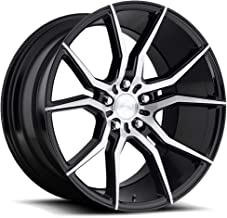 Niche Ascari 19x9.5 Machined Black Wheel / Rim 5x120 with a 35mm Offset and a 72.5 Hub Bore. Partnumber M166199521+35