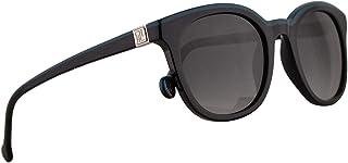 d2d0fec7f7 Carolina Herrera SHE654 Gafas De Sol Negro Y Azul Con Lentes Gris 49mm 700K  SHE 654