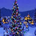 Christmas Theme Video Studio Backgrounds Computer Printed Photography Background Photographic Backdrop CP_G-013