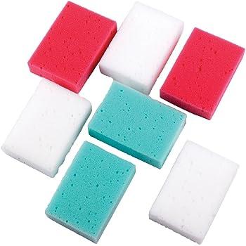 EGL Homecare Esponja de baño Coral Pack Extra Valor, 7 Piezas ...