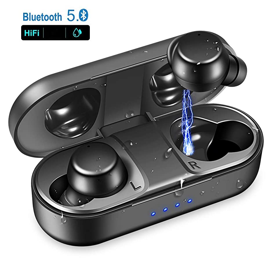 Wireless Earbuds, 3D Stereo Sound Wireless Headphones, Bluetooth 5.0 Wireless Sport Earbud with Noise Cancelling Headsets, Bluetooth Earbuds