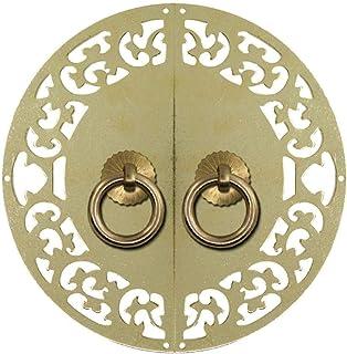 Manija de puerta vintage latón antiguo resistente al desgaste anticorrosión manija decorativa rústica ideal para arma...