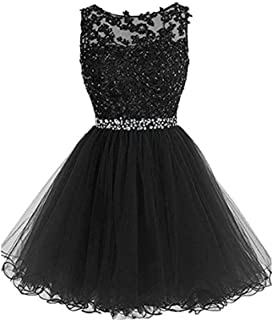 7671bddb616 Kaitaijidian Women s Off The Shoulder Organza Short Ball Gown Prom  Homecoming Dress Party Dresses 520