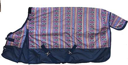 AJ Tack Wholesale Horse Turnout Blanket Rug 600D Medium Weight Water Proof Rip Stop Aztec Print 82