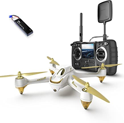 $175 Get HUBSAN X4 H501S Pro Version GPS 5.8GHz Transmitter FPV with 1080P HD Camera RC Quadcopter RTH (H501S pro White)