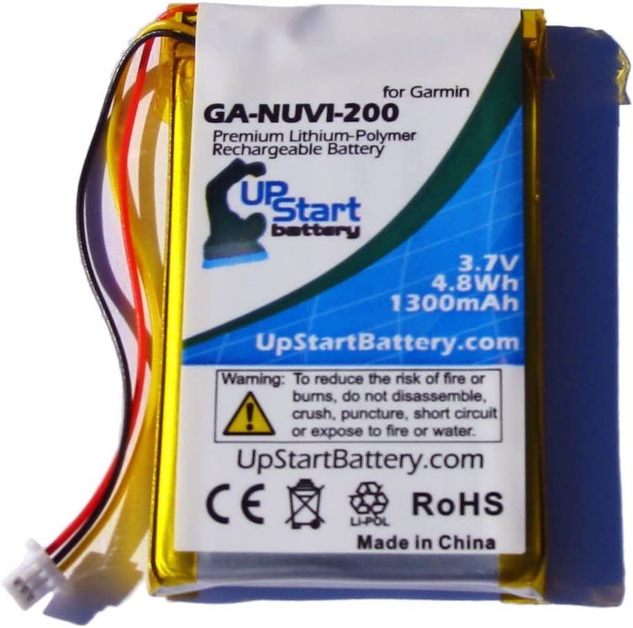 Replacement for Garmin Nuvi Ranking TOP17 765T Garmi Super popular specialty store Battery - with Compatible