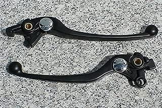 i5 Black Front Brake & Clutch Levers for Suzuki DL TL TLR SV 1000 SV1000 TL1000 Bandit GSF 1200 1250 Hayabusa