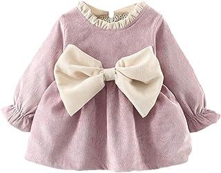 Vestidos para Niñas Vestido Bebe Niña Invierno Recien Nacido Vestido de Princesa Otoño Infantil Más Terciopelo Ropa para Bebe Niña De Frio Vestidos de Niña para Fiestas