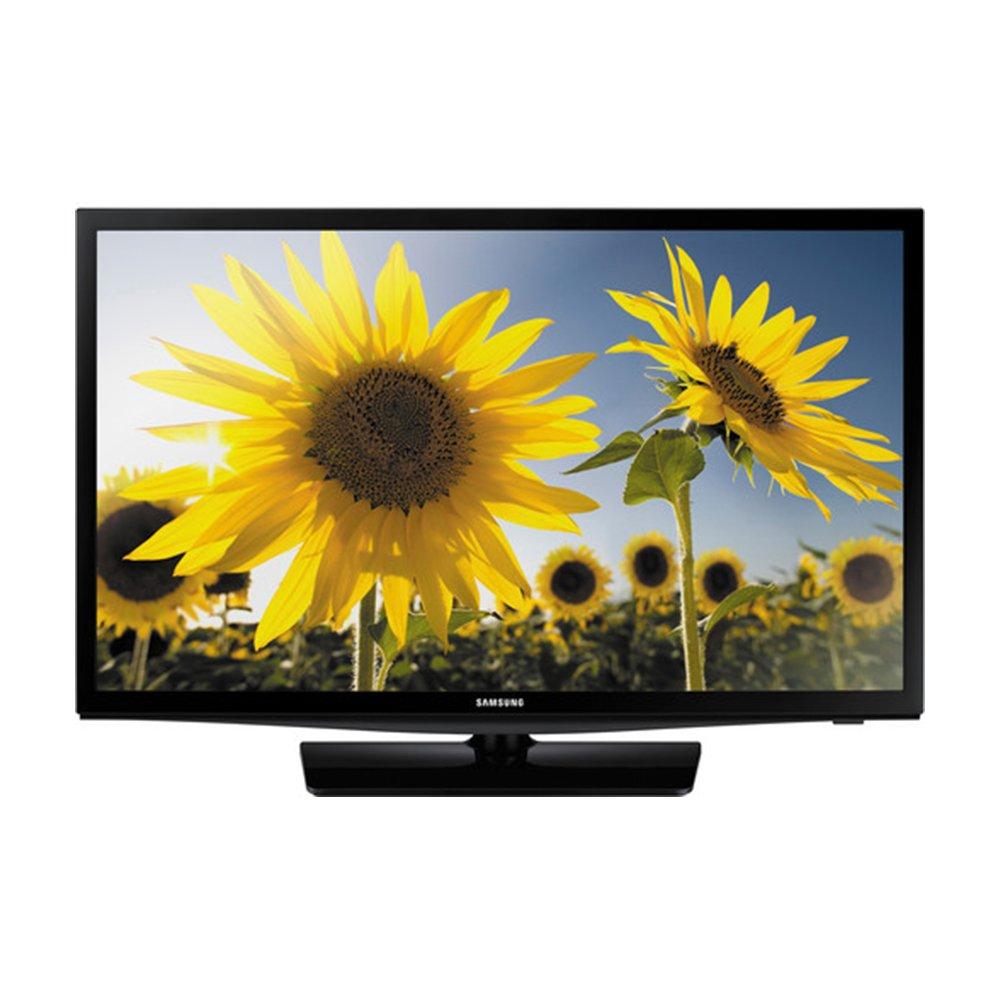 un24h4000 – 24-inch 720P HD SLIM LED TV CMR 120 Plus Bundle Pack. Incluye TV, soporte de TV pantalla plana, 3 de limitador de tensión w/2 USB puertos, 2 – 6 M