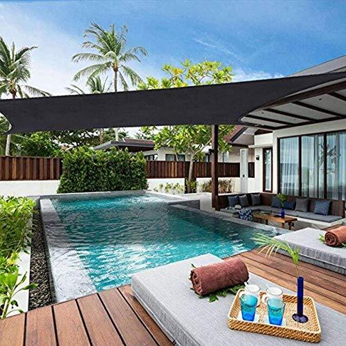 AEEYZ Sombrillas pequeñas de malla para toldos y sombrillas para jardín, pérgola con techo retráctil para jardín, tela para toldo y estanque