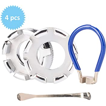 Speichenschlüssel 4 Größen 4,5 bis 6,3 Nippelspanner