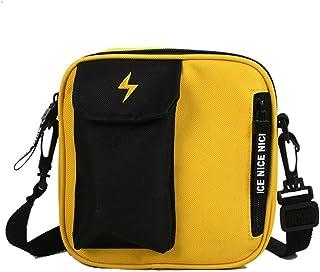 Fashion Canvas Messenger Bag Crossbody Bag School Bag Sling Pack Satchel  Handbag Unisex 517a2eeffd6b2