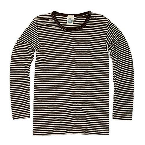 Cosi lana bambini camicia–Maglione–Maglietta a maniche lunghe, in lana vergine kbT in lana e seta di Body