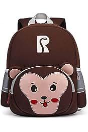 Coafit Kids Shoulder Bag Cute Tiger Pattern Kindergarten Shoulder Bag for Girls