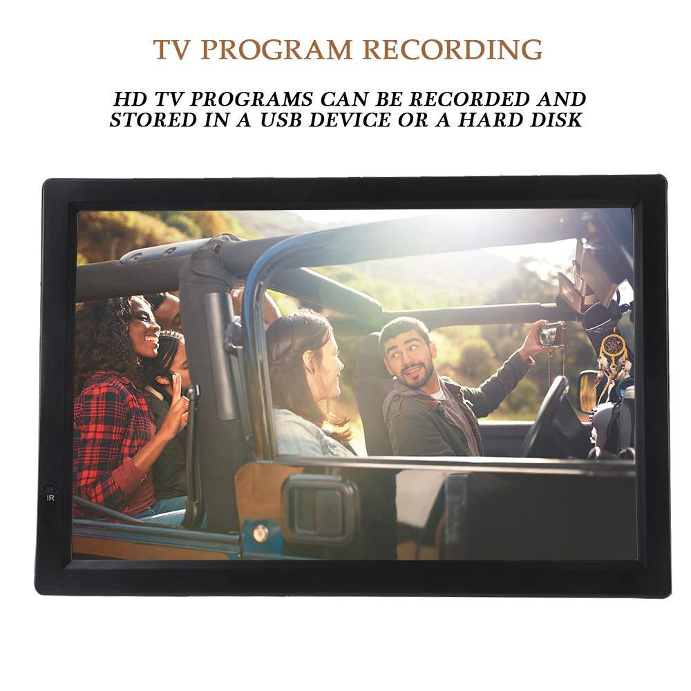 TV Digital para automóvil, TV Digital ATV/UHF/VHF de 14 Pulgadas ...