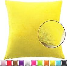 Cuscini Colorati.Amazon It Cuscini Colorati Tinta Unita