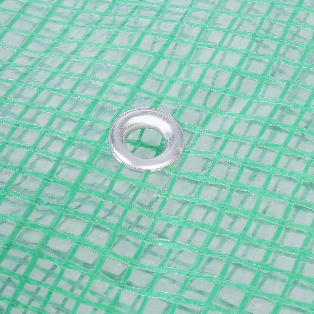 FTVOGUE Invernadero de la Planta de Rejilla Jardín de plástico portátil Casa Verde Jardín de Flores de Invernadero cálido Jardinería al Aire Libre(02): Amazon.es: Hogar
