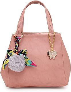 Butterflies Handbag For Women's & Girl's (Girls::Peach) (BNS 0728PCH)