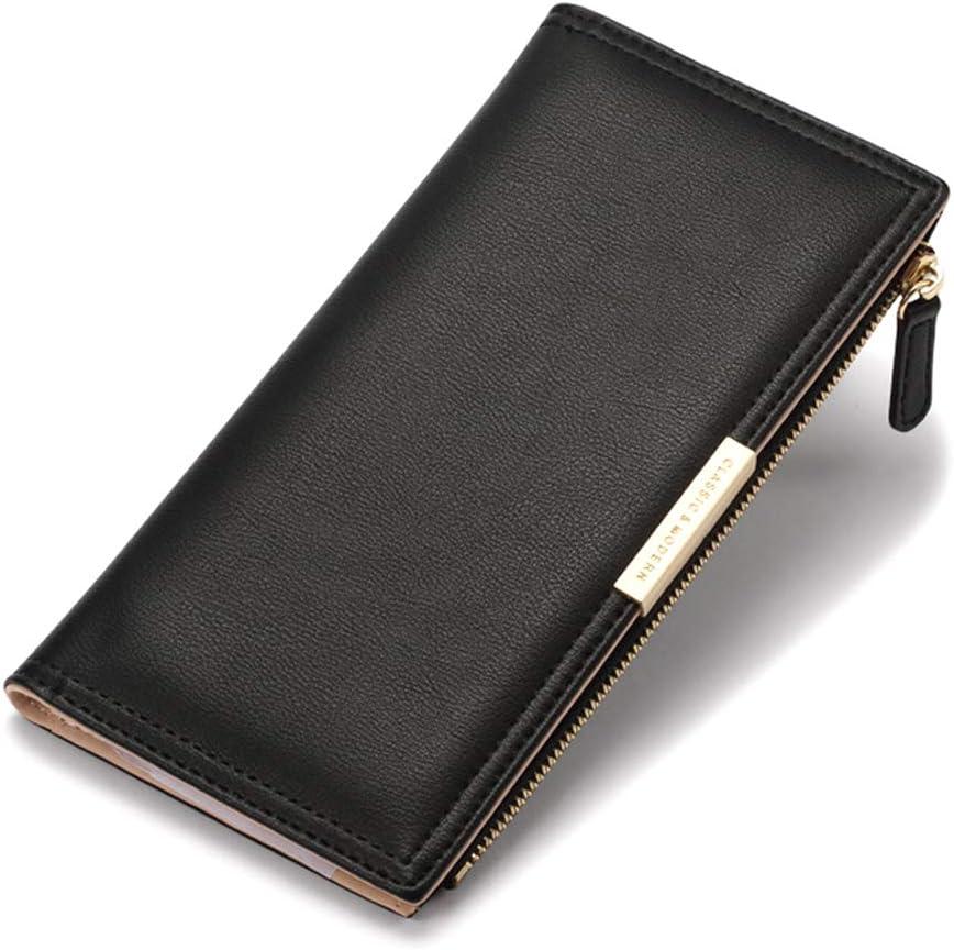 Ultra Slim Wallet Superior Leather Department store RFID Holder Blocking Bifol Credit Card