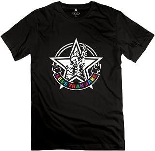 Crystal Men's Less Than Jake Brand New Design T-Shirt Black US Size L