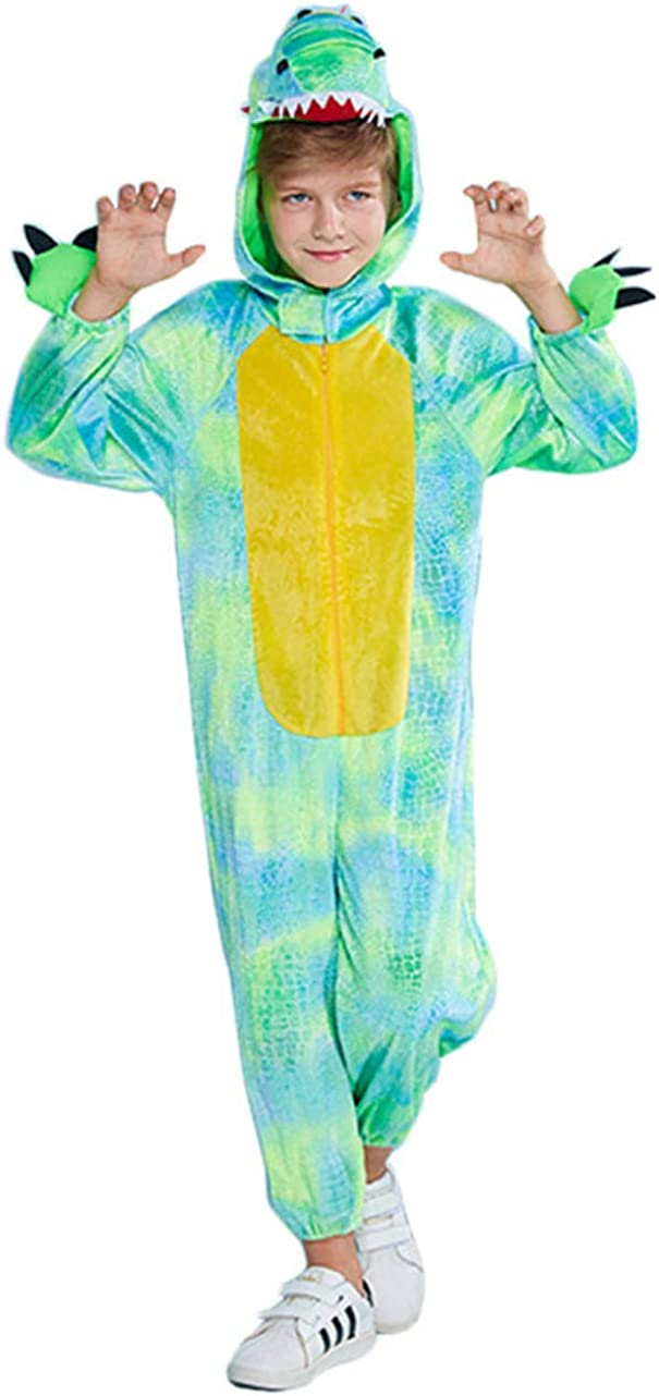Reservation Honeystore Kid's Crocodile One Piece outlet Sleepwear Funny Hal Pajamas