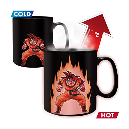 Dragon Ball Z Goku Heat Reactive Mug DBZ Exclusive