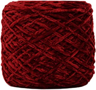 goalBY 💖💖250g Gold Velvet Yarn Roving Scarf Knit Wool Yarn Thickness Warm Hat Household💖💖 (A)