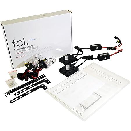 fcl.(エフシーエル) HIDキット H8/H11/H16 35W 6000K 12V車用 超薄型バラスト 2個1セット 保証付き