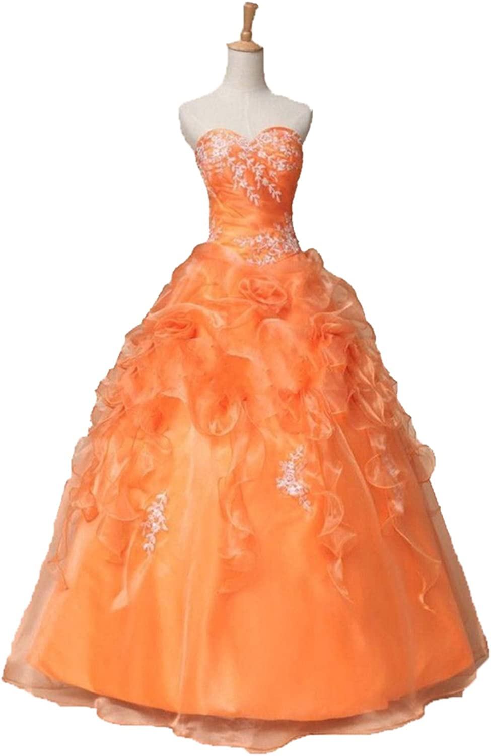 BEALEGAN Lady Women's Stock Lace Quinceanera Dresses For 15 Years Prom Gown